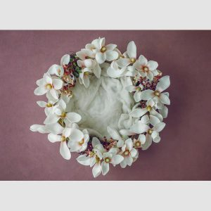 بک دراپ دیجیتال کد 6 حلقه گل
